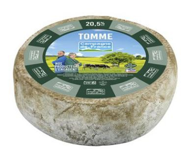 Tomme grise 40%MG +/- 1,7Kg