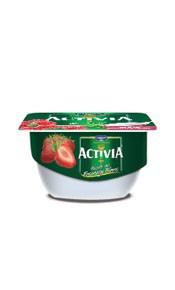 Activia Fromage blanc fraise 4x120g