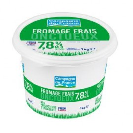 Fromage frais 7,8% MG 1kg