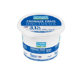 Fromage frais nature 3,1% MG 1Kg